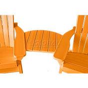 Jayhawk Plastics Basic Adirondack Tete-A-Tete, Cedar