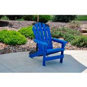 Jayhawk Plastics Cape Cod Adirondack Chair, Blue