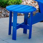 Jayhawk Plastics Traditional Adirondack Side Table, Blue