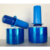 "Goodwrappers® PRDBL803 Cast Film, 3"" x 1000' x 80 Gauge, Blue Tint - Pkg Qty 18"