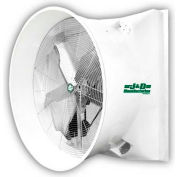 "J&D 72"" Mega Storm Exhaust Fan With Cone VMSA72A5C31 3 HP RPM 1 PH"