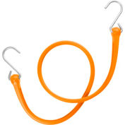 "The Perfect Bungee PB36 31"" Bungee Strap W/Galvanized Triangular S Hooks (Overall 36""), Orange - Pkg Qty 4"