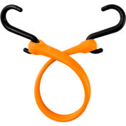 "The Perfect Bungee PBNH18 13"" Bungee Strap With Nylon S Hook Ends (Overall Length 18""), Orange - Pkg Qty 4"