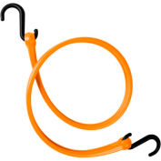 """The Perfect Bungee PBNH36 31"""" Bungee Strap With Nylon S Hook Ends (Overall Length 36""""), Orange - Pkg Qty 4"""