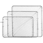 "Adjust-A-Gate CL013620 Adjustable Walkgate Kit 72""W x 60""H, White"