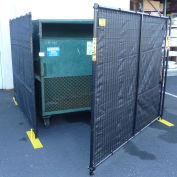 Dumpster Enclosure With Gate - 15' x 7-1/2'