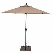 TrueShade® 9' Market Umbrella - Push Button Tilt - Antique Beige