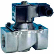 "Jefferson Valves, 1 1/4"" 2 Way Solenoid Valve For Fuel Gas And Other Gases 24V DC"
