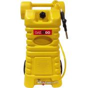 Gas & Go Polyethylene 25-Gal Fuel Cart Diesel Caddy - UN/DOT & Transport CA Approved, GG-25PFC-D