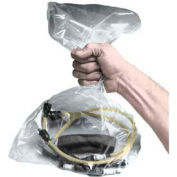 "JohnDow Plastic Vehicle Parts Bags, Clear 12""W X 22""H - 500 Bags/Roll - PB-12"