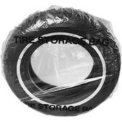 JohnDow Plastic SUV Tire Storage Bag, Clear - 100 Bags/Roll - TB-6SUV