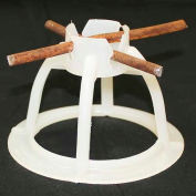 """Lotel™ Mesh-Ups Concrete Reinforcing Chairs, 3"""" Mesh Up For #0 Gauge Wire, 100 Qty"""
