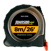 Johnson Level 1840-0026 Big J 8M/26' Metric/Inch Magnetic Power Tape