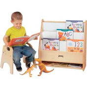Jonti-Craft® Toddler Pick-a-Book Stand - 1 Sided