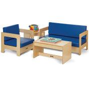 Jonti-Craft® Blue Living Room Set - 4 Piece
