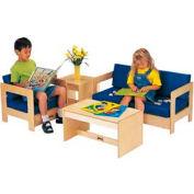 Jonti-Craft® ThriftyKYDZ® Blue Living Room Set - 4 Piece
