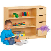 "Jonti-Craft® Storage Module, 36""W x 15""D x 29""H, Birch Plywood"
