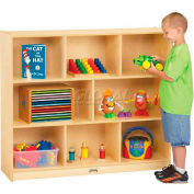 "Jonti-Craft® Mega Mobile Single Storage Unit, 48""W x 15""D x 42""H, Birch Plywood"