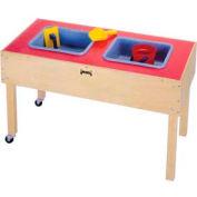 Jonti-Craft® 2 Tub Sensory Table - Toddler Height