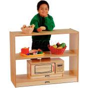 "Jonti-Craft® Open Shelf Unit, 36""W x 15""D x 29""H, Birch Plywood"