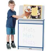 Jonti-Craft® Rainbow Accents® Big Book Easel - Write-n-Wipe - Gray Top/Purple Edge