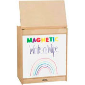 Jonti-Craft® ThriftyKYDZ® Big Book Easel - Magnetic Write-n-Wipe