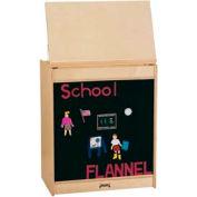 Jonti-Craft® ThriftyKYDZ® Big Book Easel - Flannel