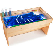 Jonti-Craft See-Thru Sand and Light Sensory Table Cover by Table Cloths