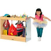 """Jonti-Craft® Kid Dress Up Island, Preschool, 36""""W x 15""""D x 29""""H, Birch Plywood"""