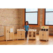 Jonti-Craft® TrueModern™ Play Kitchen 4 Piece Set