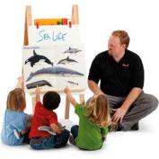 Jonti-Craft® Teachers' Easel - Standard - Write-n-Wipe