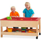 Jonti-Craft® Sensory Table with Shelf - Toddler Height