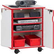 Jonti-Craft® RAINBOW ACCENTS®Presentation Mobile Cabint / Navyjnc
