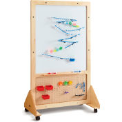 "Jonti-Craft® STEM Mobile Creativity Display Board - 37""W x 20""D x 62.5""H"