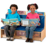 Jonti-Craft® Literacy Couch - Red