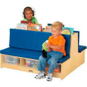 Jonti-Craft® Read-a-Round - Couch - Blue