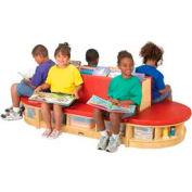 Jonti-Craft® Read-a-Round - 3 Piece Set - Red