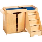 Jonti-Craft® Changing Table with Stairs - Right