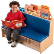 Jonti-Craft® Corner Literacy Nook - Red