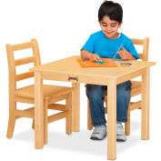 """Jonti-Craft® Multi-Purpose Square Table, 24""""W x 24""""L x 20""""H, Maple"""