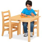 """Jonti-Craft® Multi-Purpose Square Table, 24""""W x 24""""L x 24""""H, Maple"""