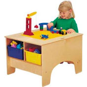 Jonti-Craft® KYDZ Building Table - Duplo® Compatible with Colored Tubs
