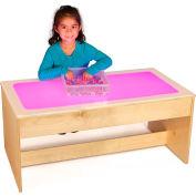 Jonti-Craft® Large Sensory Light Table - 16 Colors - Wooden Base