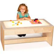 Jonti-Craft® Large Sensory Light Table - Wooden Base