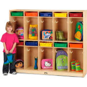 """Jonti-Craft® Kid Take Home Center w/Colored Paper-Trays, 60-1/2""""Wx15""""Dx50-1/2""""H, Birch Plywood"""