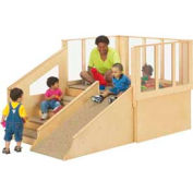 Jonti-Craft® Tiny Tots Loft without Bins - For 12-24 Months Babies