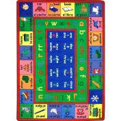 "Joy Carpets LenguaLink™ Classroom Carpets 7'8"" x 10'9"", Multi - 1412D"