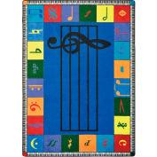 "Joy Carpets Note Worthy™ Classroom Carpets 10'9""x 13'2"", Multi - 1462G-01"