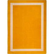 "Joy Carpets Portrait™ Classroom Carpets 3'10"" x 5'4"", Goldenrod - 1479B-02"