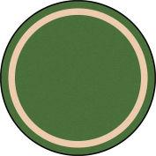 "Joy Carpets Portrait™ Classroom Carpets 13'2"" Round, Greenfield - 1479XLE-03"